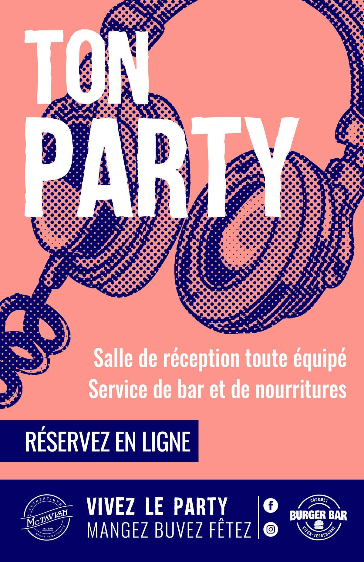 Ton party - Location de salle