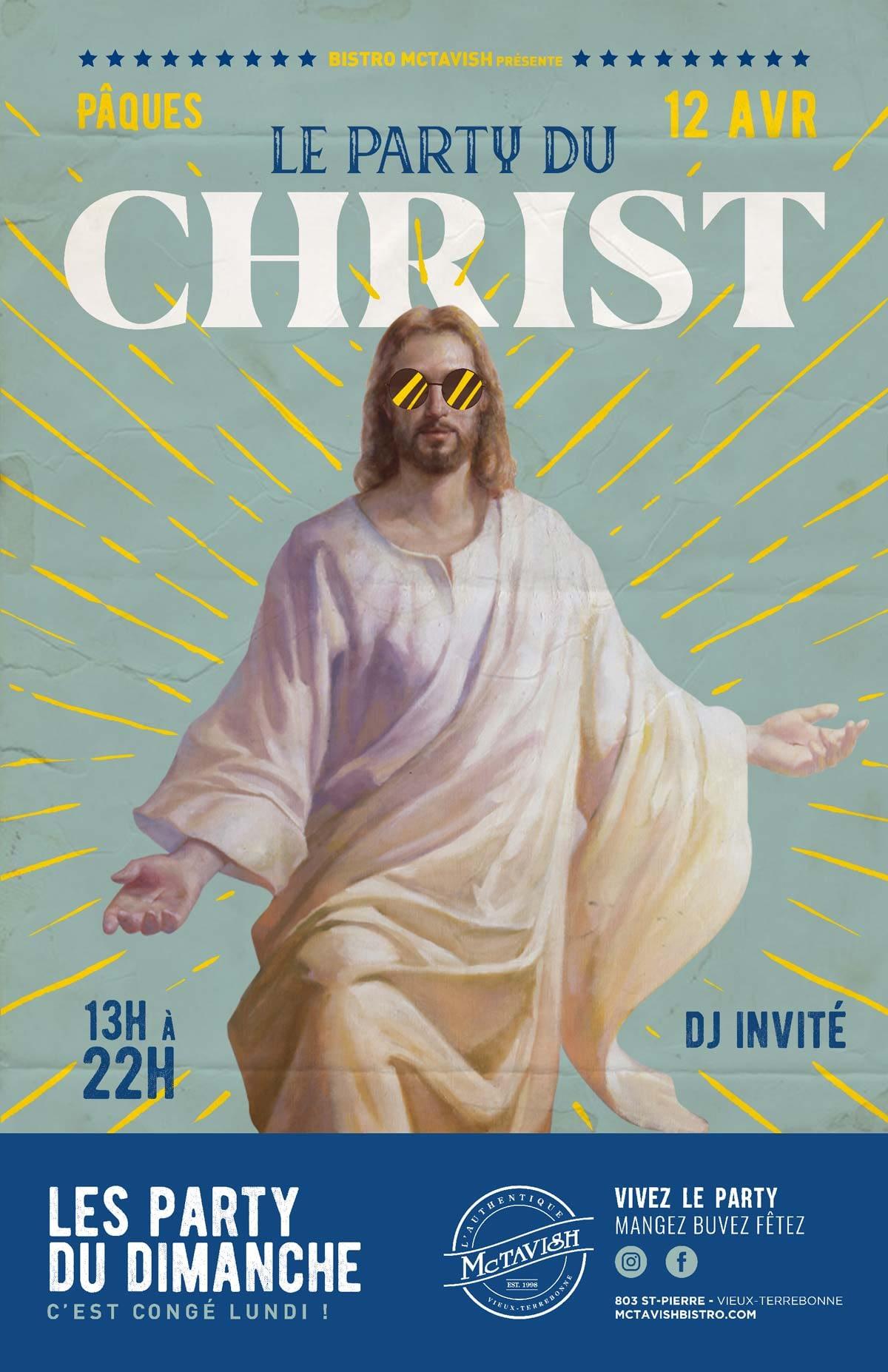 Pâques - Le party du christ